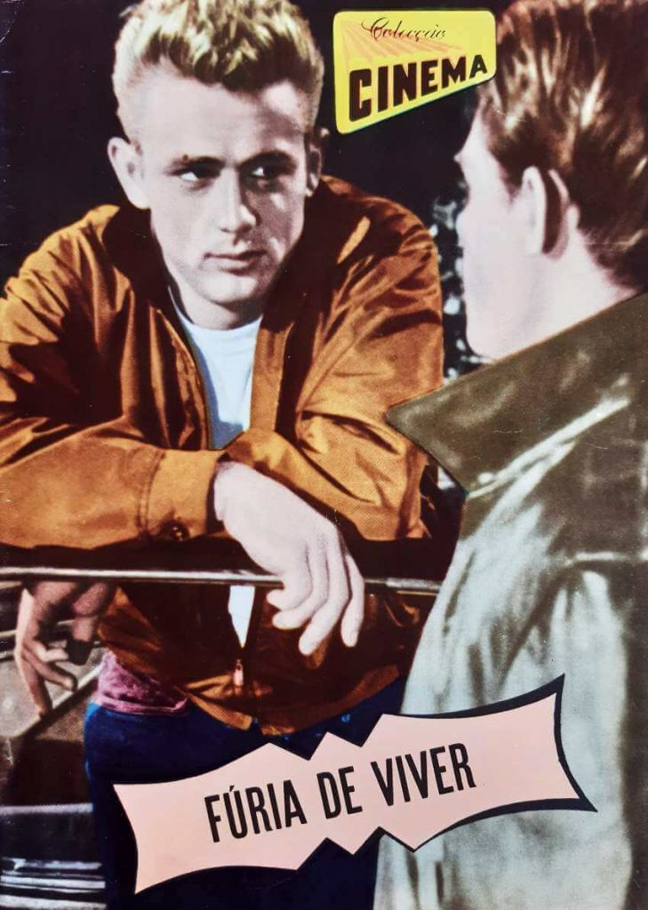 """Colecção Cinema number 13, series 9, published in 1957. All magazine dedicated to the movie """" Rebel Without a Cause"""""""