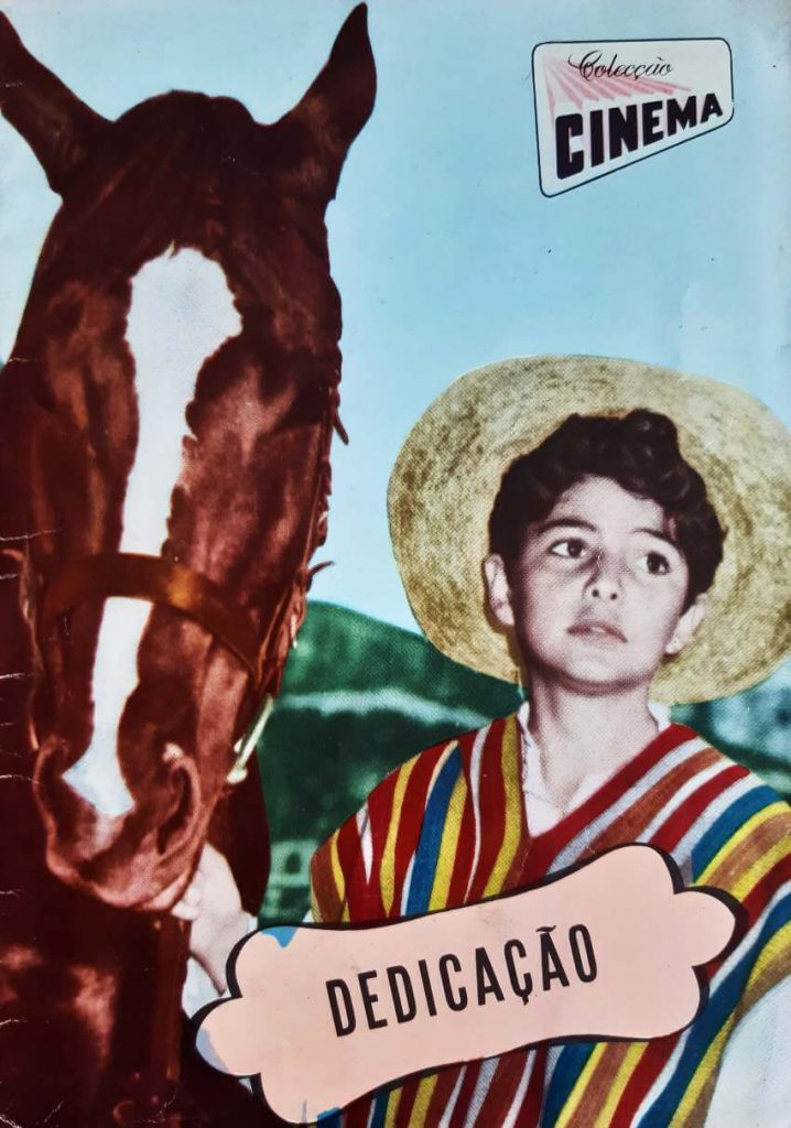 """Colecção Cinema number 14, series 9, published in 1957. All magazine dedicated to the movie """" The Lttlest Outlaw"""""""