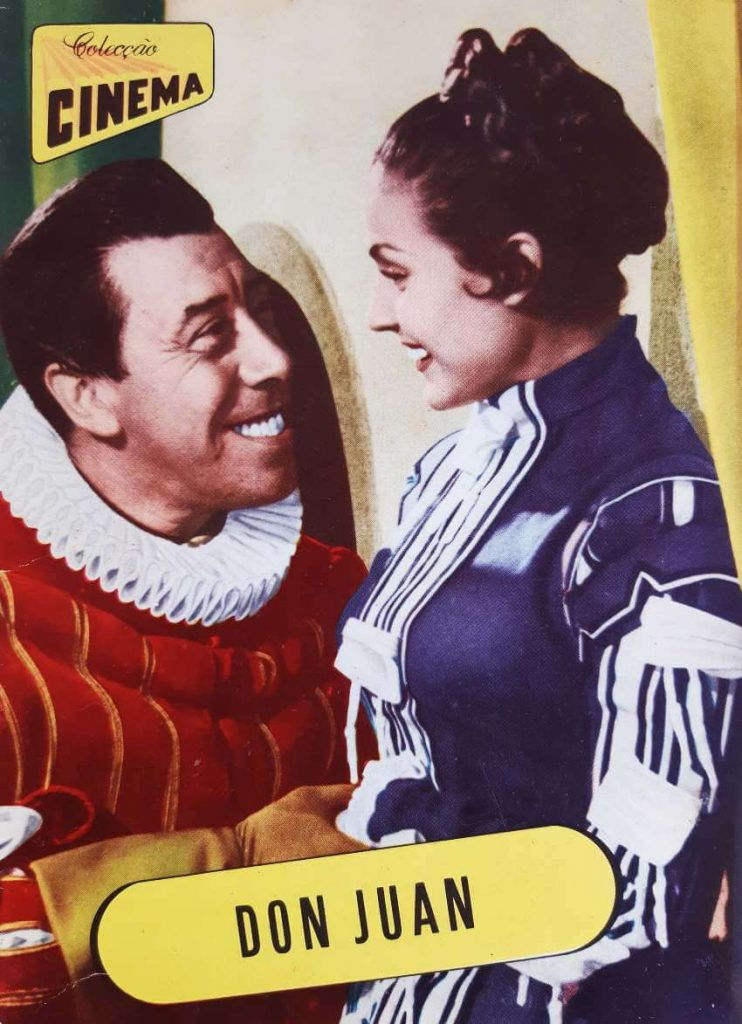 """Colecção Cinema number 15, series 9, published in 1957. All magazine dedicated to the movie """" Don Juan"""""""