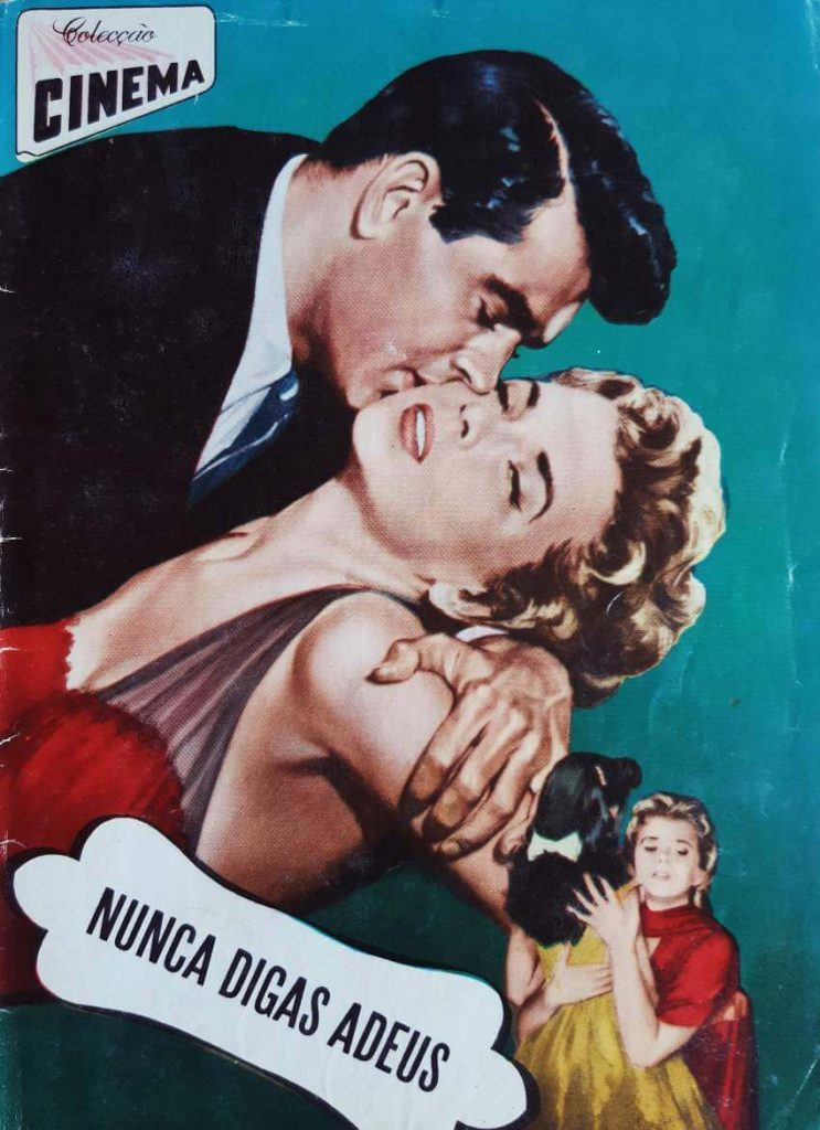 """Colecção Cinema number 5, series 10, published in 1957. All magazine dedicated to the movie """"Never Say Goodbye"""""""