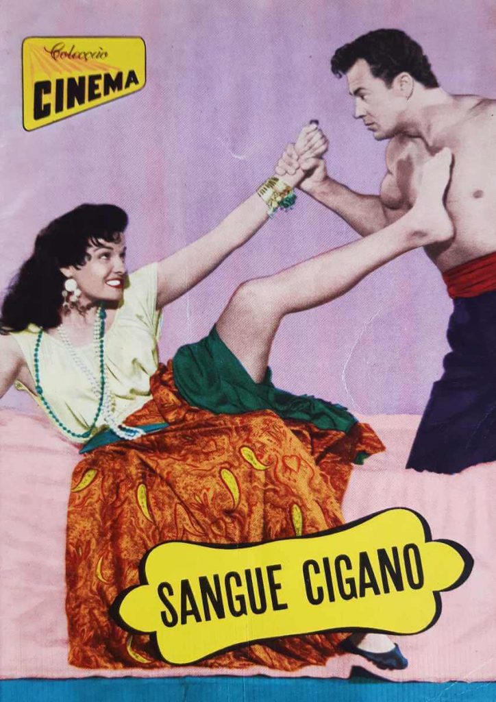 """Colecção Cinema number 9, series 11, published in 1957. All magazine dedicated to the movie """"Hot Blood"""""""