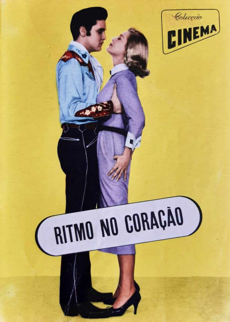 """Colecção Cinema Portuguese Magazine number 9 Series 22, published in 1957. All magazine is dedicated to """"Loving You"""" movie, with Elvis Presley."""
