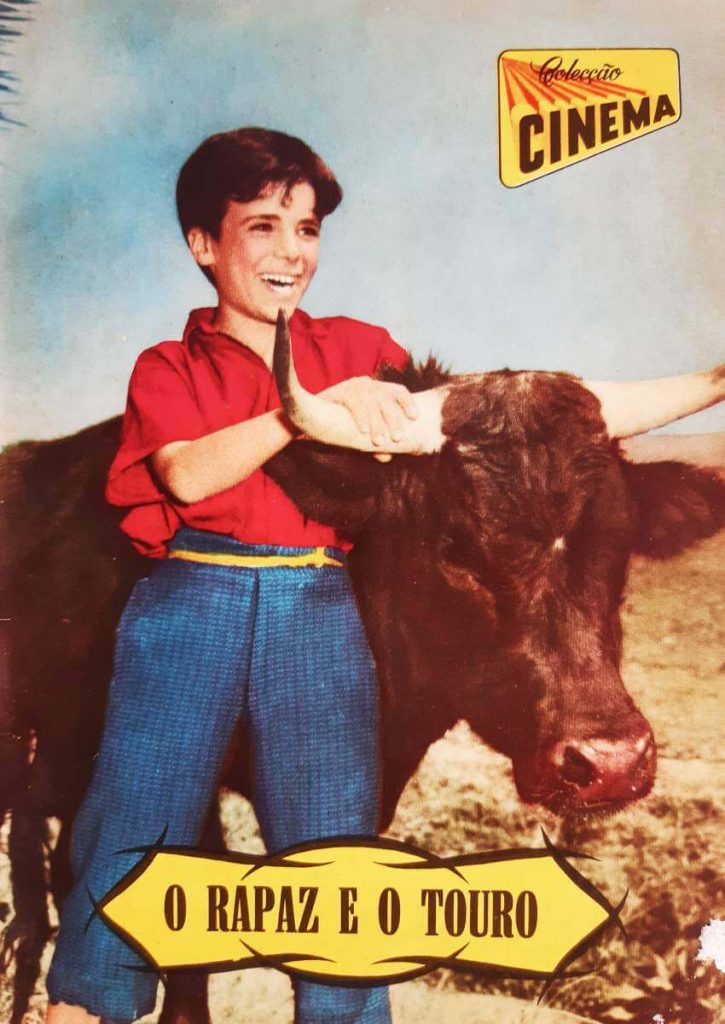 """Colecção Cinema number 11, series 9, published in 1956. All magazine dedicated to the movie """"The Brave One"""""""